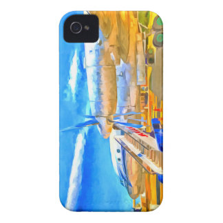 Pop Art Russian Airliner iPhone 4 Case-Mate Case