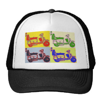POP ART SCOOTER CAP