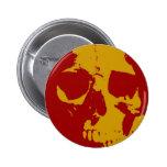 Pop Art Skull Badges