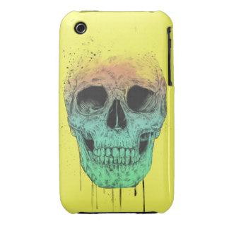 Pop art skull iPhone 3 covers