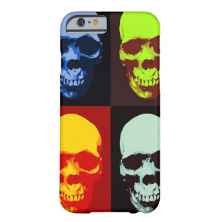 Pop Art Skull iPhone 6 Case