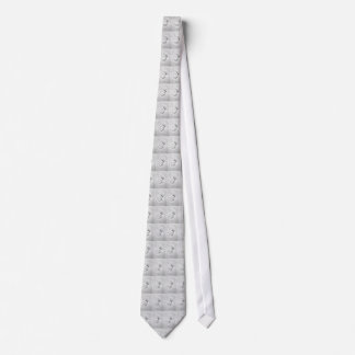 Pop Art Smash Punch Pencil Sketch Tie