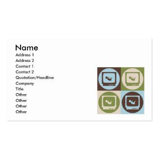 Pop Art Sonograms Pack Of Standard Business Cards
