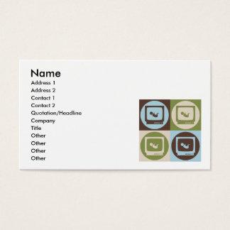 Pop Art Sonograms Business Card