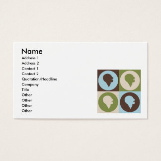 Pop Art Speech-Language Pathology Business Card