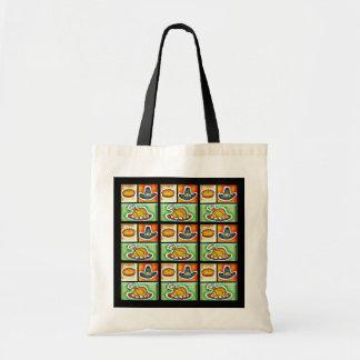 Pop Art Thanksgiving Dinner Tote Bags