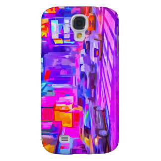 Pop Art Times Square Galaxy S4 Cover