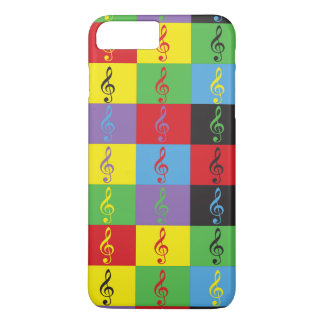 Pop Art Treble Clef iPhone 7 Plus Case