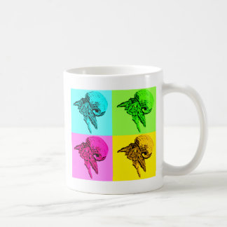 Pop Art Viola Hermit Crab Design Mug