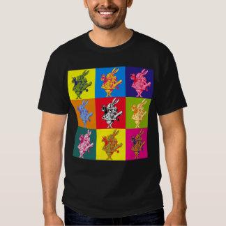 Pop Art White Rabbit Full Colour Shirt