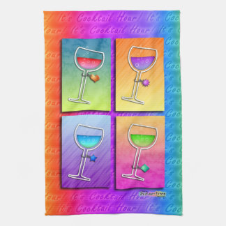 Pop Art WINE Kitchen - Bar TOWEL