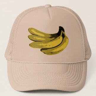 Pop Art Yellow Banana Graphic Trucker Hat