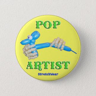 Pop Artist Balloon Dog 6 Cm Round Badge