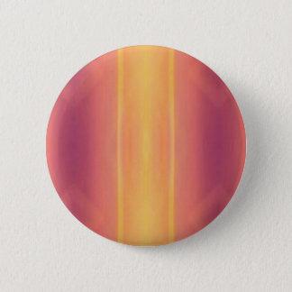 Pop Bright Pink Peach Vertical Pattern 6 Cm Round Badge
