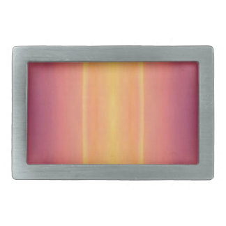 Pop Bright Pink Peach Vertical Pattern Belt Buckles