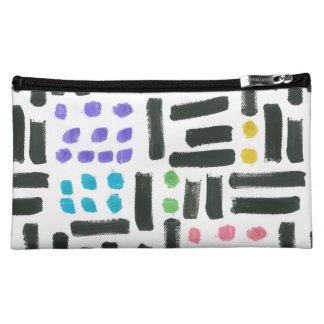 Pop Brushstroke Cosmetics Bag
