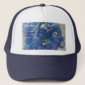 Pop Cat Series - 02 Jasper Trucker Hat