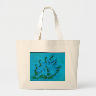 Pop Conch Large Tote Bag