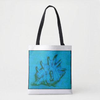 Pop Conch Tote Bag