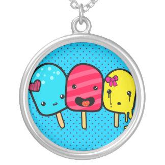 Pop Craze by Prettyrobot Round Pendant Necklace