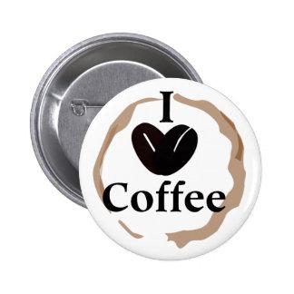 Pop Culture I Love Coffee Pins