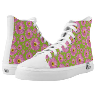 Pop Daisy Pink Printed Shoes