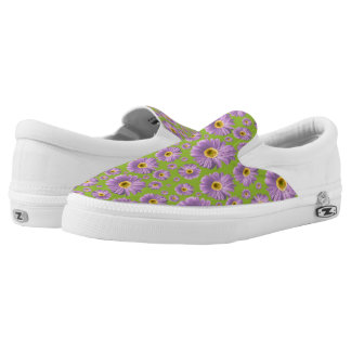 Pop Daisy Purple Printed Shoes