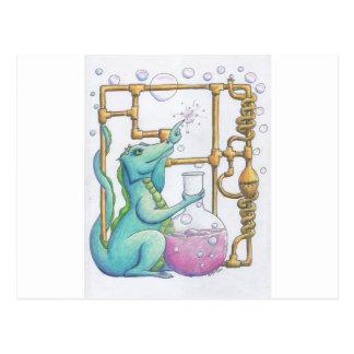 Pop Dragon Postcard