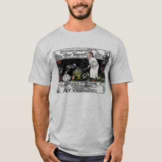 Pop Ernest Abalone and Seafood Restaurant Menu T-Shirt