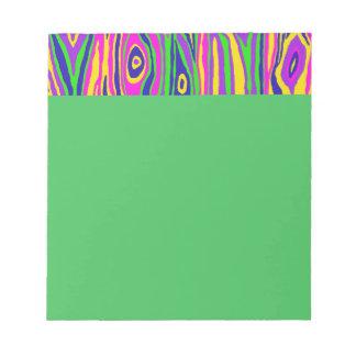 Pop Faux Bois Notepad