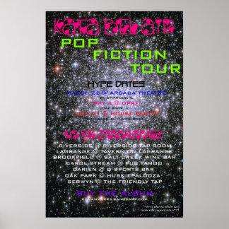 Pop Fiction Tour Poster