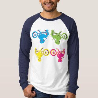 Pop Grungy Motocross T-Shirt