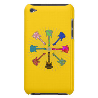 POP GUITARS CIRCLE BARELY THERE iPod COVERS