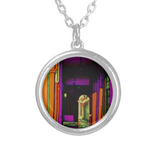 Pop Hallway Silver Plated Necklace