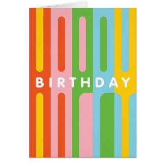Pop Happy Birthday Card