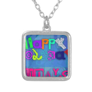Pop Happy Holidays 2015 - Silver Plated Necklace