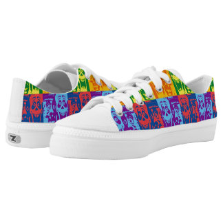 Pop Happy Monsters Printed Shoes