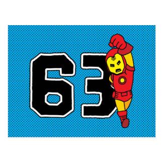 Pop Iron Man 63 Postcard