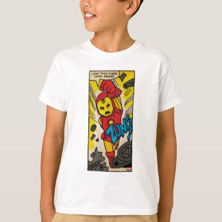Pop Iron Man Comic Strip Shirt