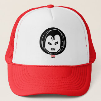 Pop Iron Man Icon Trucker Hat