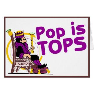 Pop is Tops Card