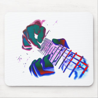 Pop kind Guitar Tapping Mouse Pad