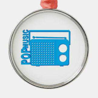 Pop Music Christmas Ornament