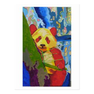 Pop Panda postcard