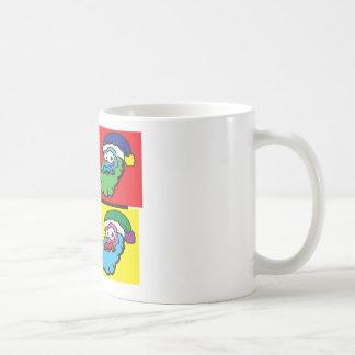 Pop Santa Classic White Coffee Mug