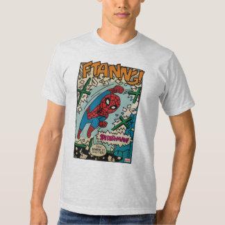 Pop Spider-Man Comic Strip T-shirt