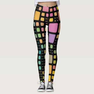 Pop Squares Leggings