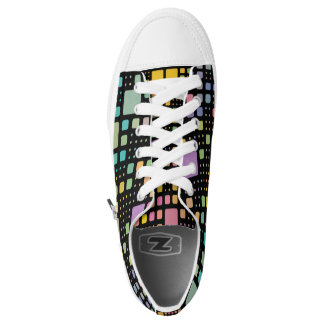 Pop Squares Printed Shoes