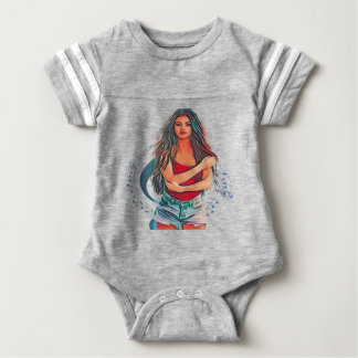 Pop Star Beauty Baby Bodysuit