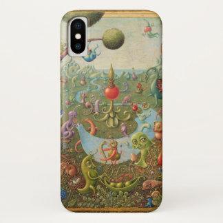Pop surrealism phone case, Dreaming iPhone X Case